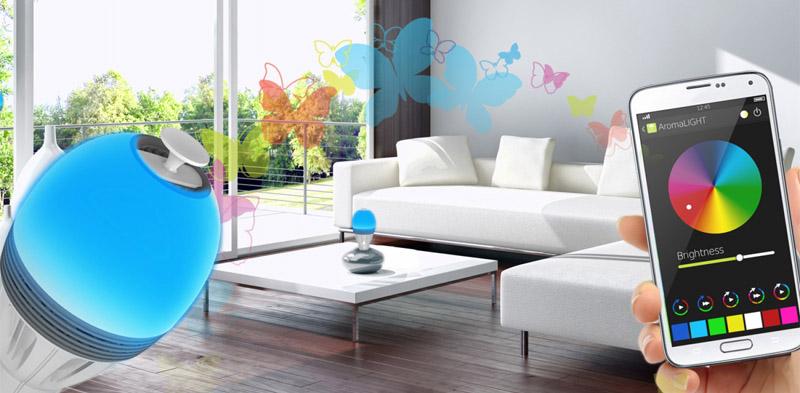awox aromalight duft im smart home led lampen die duften. Black Bedroom Furniture Sets. Home Design Ideas