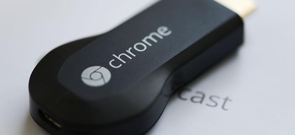 google bringt neues chromecast ins smart home. Black Bedroom Furniture Sets. Home Design Ideas